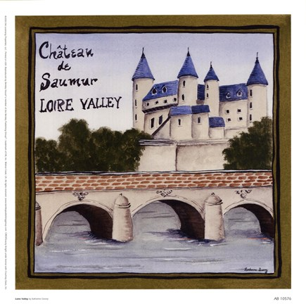 Framed Loire Valley Print