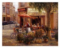 Cafe Corner, Paris Art