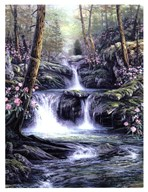 Blue Ridge Falls Art
