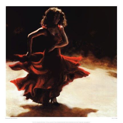 Framed Spirit Of Flamenco Print