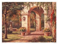 Arch Courtyard I Art