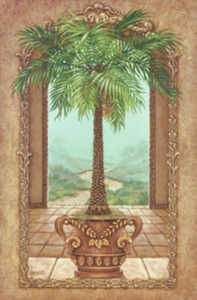 Framed Classical Palm Tree Print