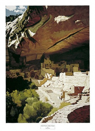 Framed Cliff Palace - Mesa Verde Print