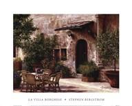 La Villa Borghese  Fine Art Print