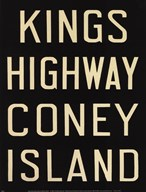 Kings Hwy/Coney Island  Fine Art Print