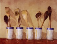 Kitchen Tools  Fine Art Print