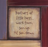 Mothers of Little Boys Art