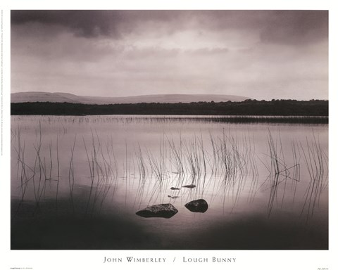 Framed Lough Bunny Print