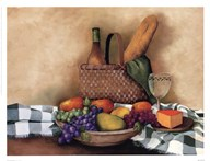 Basket And Bowl  Fine Art Print