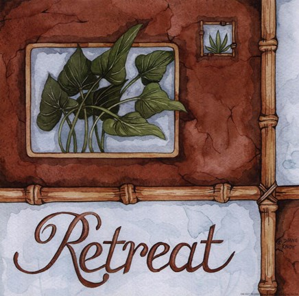 Framed Retreat Print