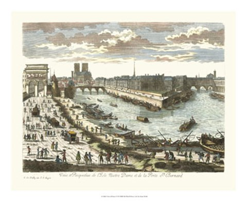 Framed View of France VI Print