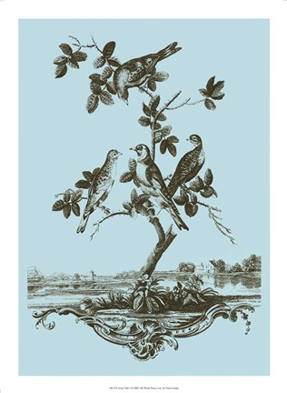 Framed Avian Toile I Print