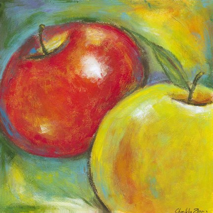 Abstract Fruits Iv Fine Art Print By Chariklia Zarris At