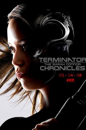 Framed Terminator: The Sarah Connor Chronicles - style W Print