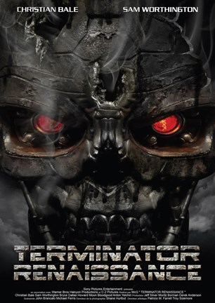 Framed Terminator: Salvation - French - style A Print