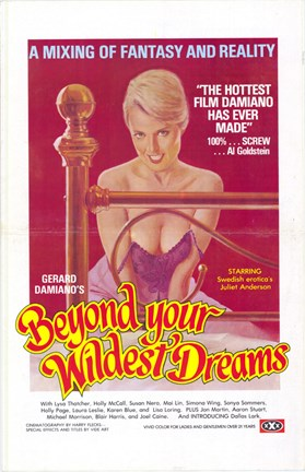 Framed Beyond Your Wildest Dreams, c.1981 Print