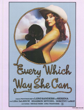 Framed Every Which Way She Can, c.1981 Print