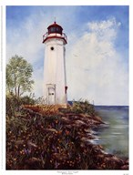 Cheboygan Crib Light  Fine Art Print