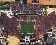Kyle Field Texas A&M Aggies 2007  Fine Art Print