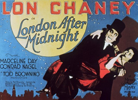 Framed London After Midnight, c.1927 Print