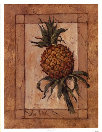 Framed Pineapple Punch Print