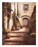 Sun in the Entryway  Fine Art Print