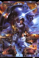 Star Wars Saga - Collage  Wall Poster