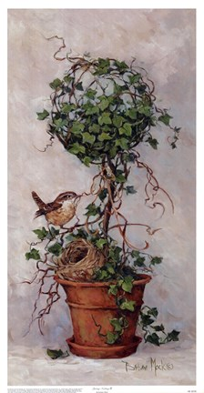 Spring Nesting Ii Fine Art Print By Barbara Mock At