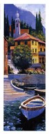 Lake Como Crossing Panel I  Fine Art Print