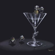 Gangster Martini Art