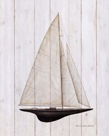 Sailboat II  Fine Art Print