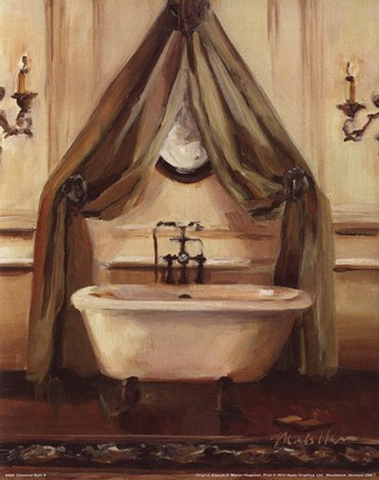 Framed Classical Bath II Print
