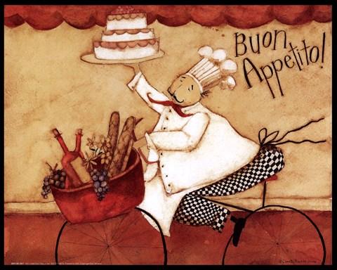 Buon Appetito Fine Art Print By Dan Dipaolo At