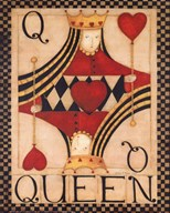 Queen of Hearts  Fine Art Print