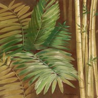 Bamboo & Palms II Art
