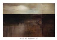 Deep Sienna Sky  Fine Art Print