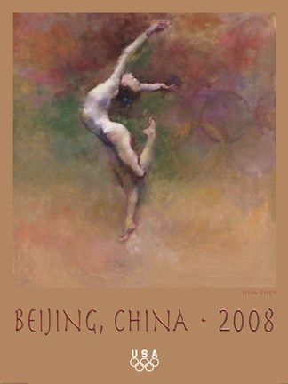 Framed Olympic Dreams (Beijing, China, 2008) Print