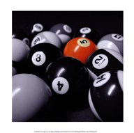 Five Ball  Fine Art Print