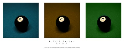 Framed 8 Ball Series Print
