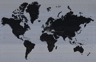 World Map - Contemporary (mercator projection)