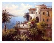 Enchanted Villa  Fine Art Print