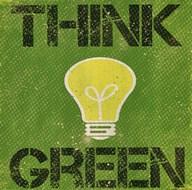 Think Green  Fine Art Print