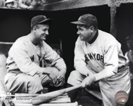 Lou Gehrig & Babe Ruth Posed Art