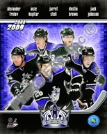 2008-09 Los Angeles Kings Team Composite Art