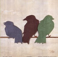 Birds III  Fine Art Print