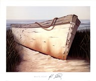 White Boat Art