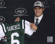 Mark Sanchez 2009 Draft Day  Fine Art Print