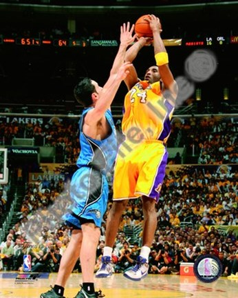 Framed Kobe Bryant Game One of the 2009 NBA Finals  (#2) Print