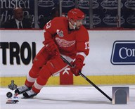 Pavel Datsyuk - '09 St. Cup / Gm. 5 (#26) Art