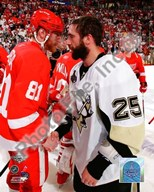Maxime Talbot & Marian Hossa Game 7 of the 2008-09 NHL Stanley Cup Finals (#56) Art